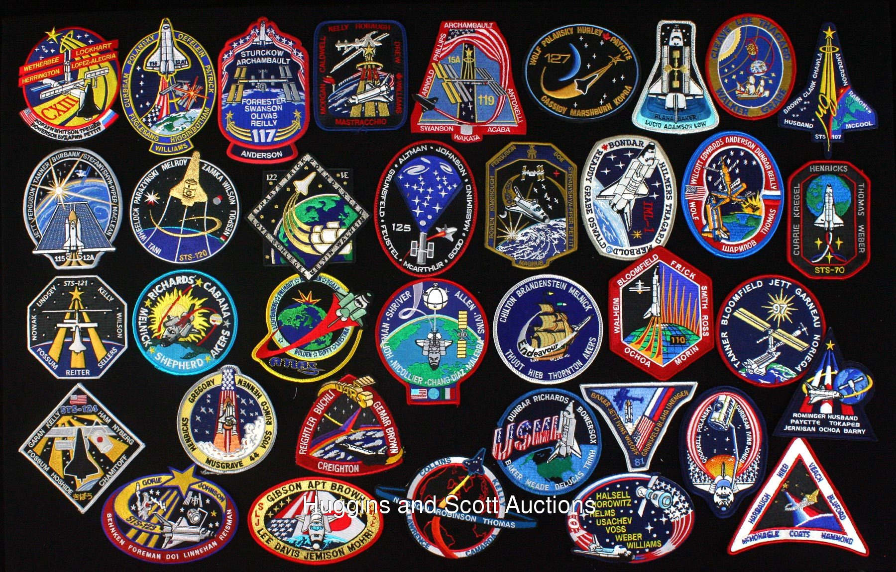 space shuttle mission badges - photo #40