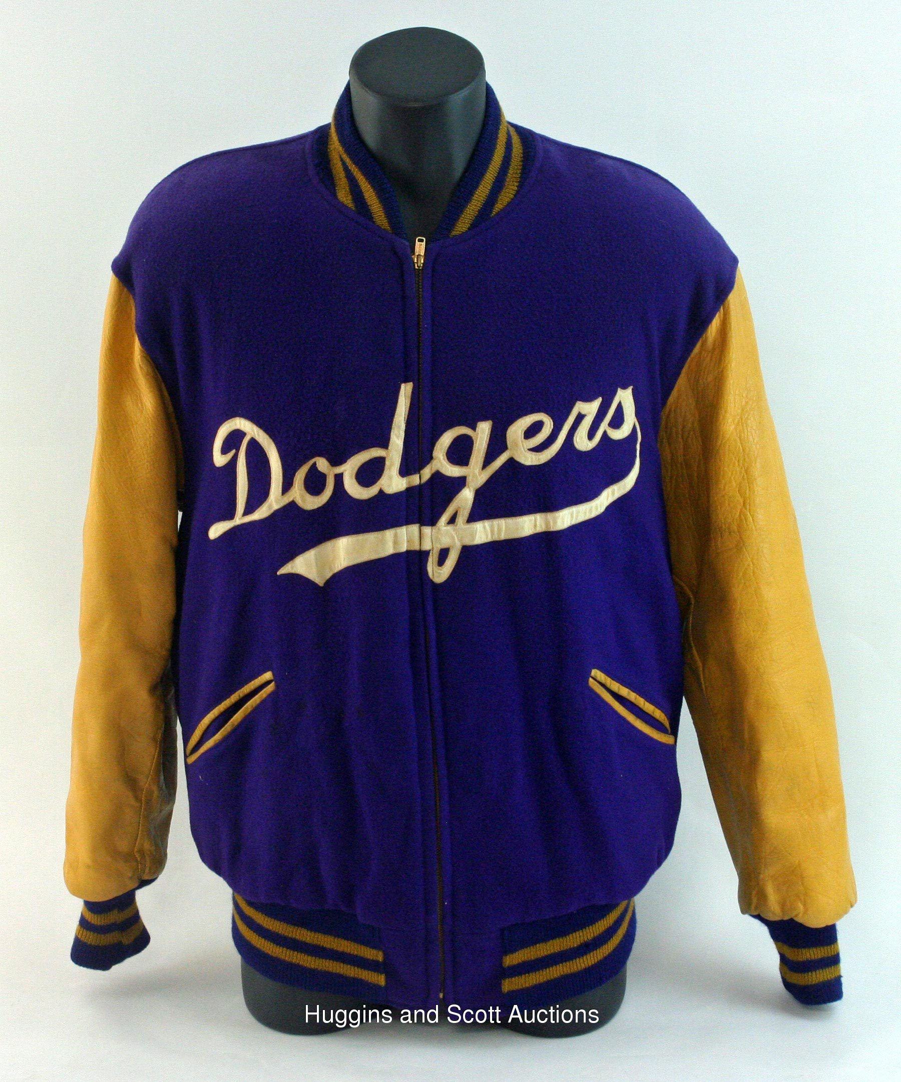 1950s Brooklyn Dodgers Game Worn Warm Up Jacket